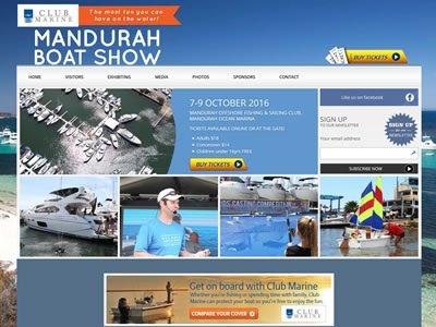 Club Marine Mandurah Boat Show 7-9 October, 2016