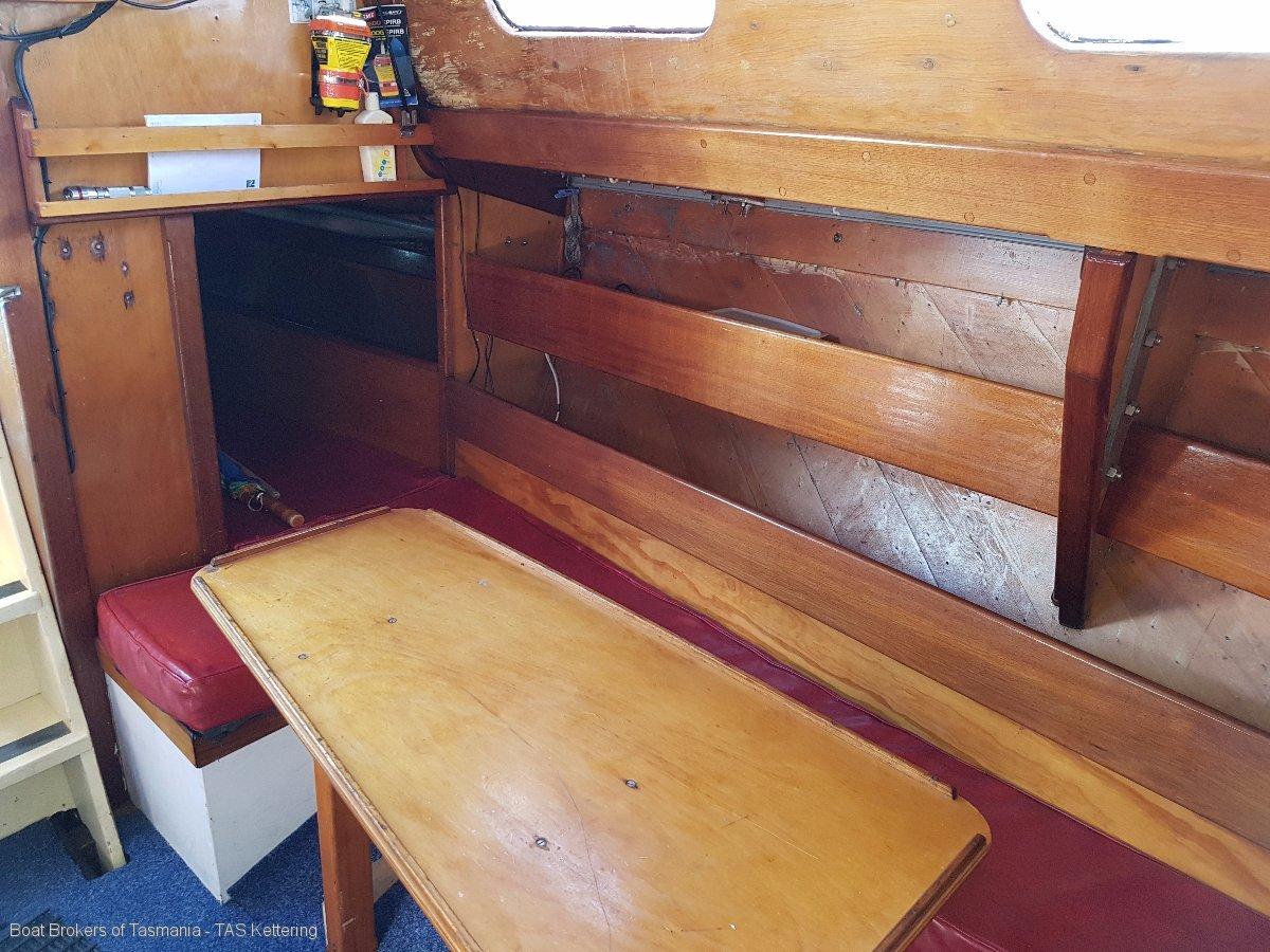 Allegro Adams 33 Aft cabin cruiser/racer Boat Brokers of Tasmania