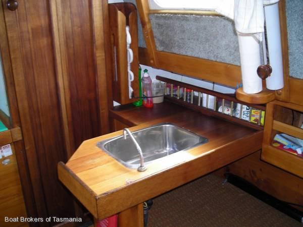 Maria Timber 26' Motorsailer Boat Brokers of Tasmania