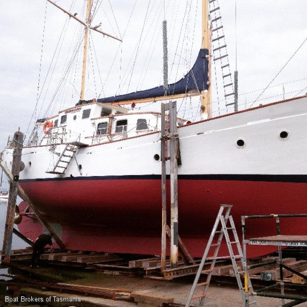 Motorsailer 62 feet. In 2B and 1E AMSA survey
