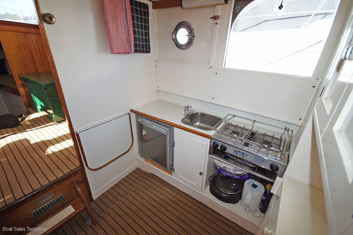 "32' Classic Timber Motor Yacht ""Sea Imp"""