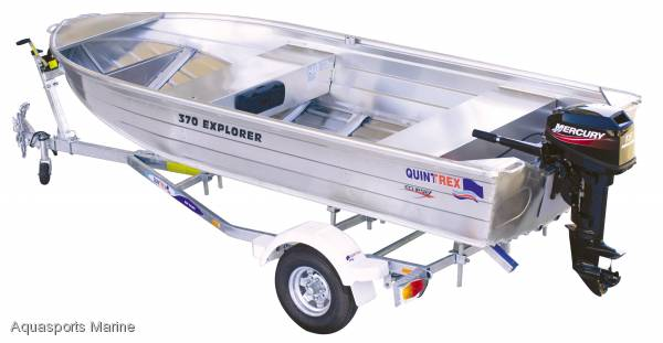 New Quintrex 370 Explorer