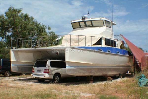 13m Aluminium Long Range Cruising Catamaran