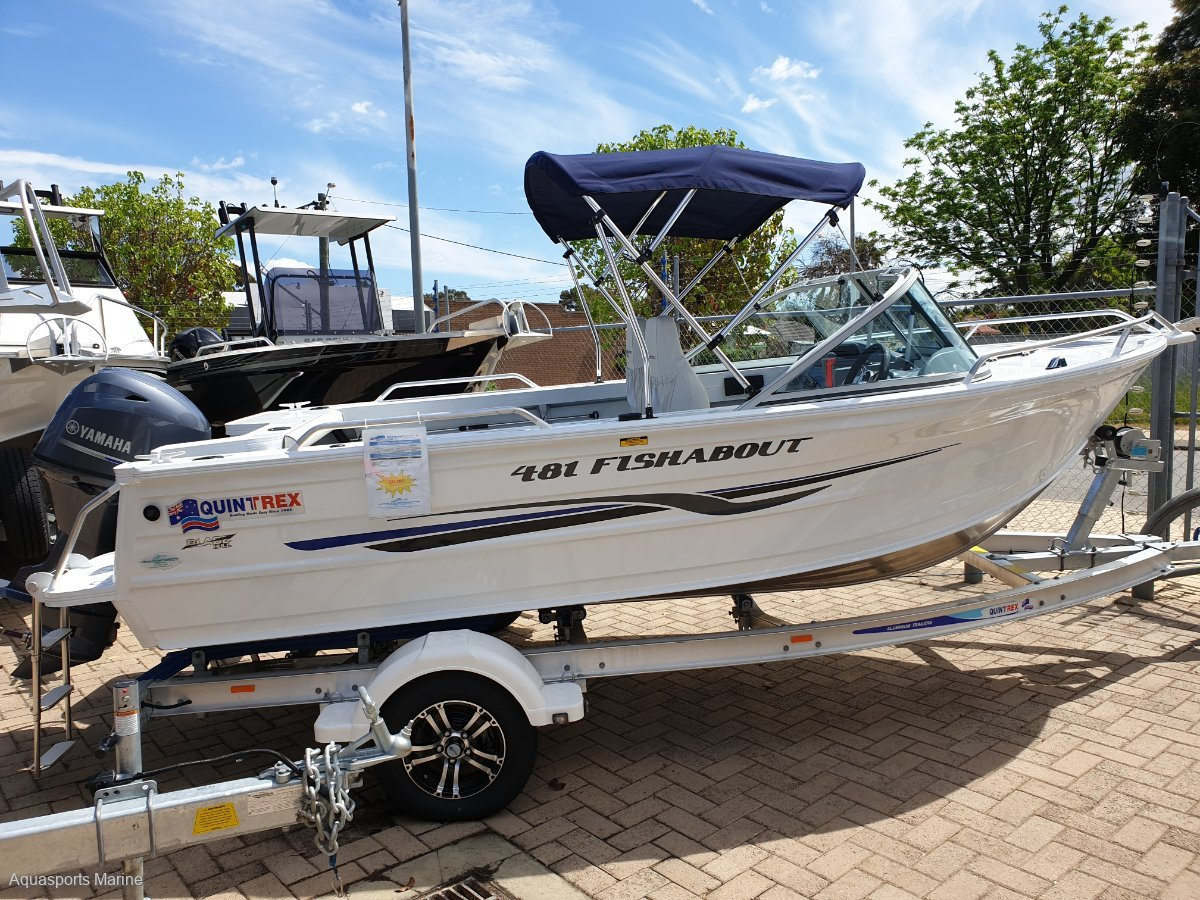 New Quintrex 481 Fishabout STOCK CLEARANCE SPECIAL