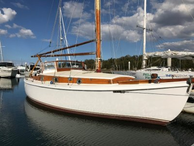 Alan Payne Sloop 28' Historic Australia Sailboat