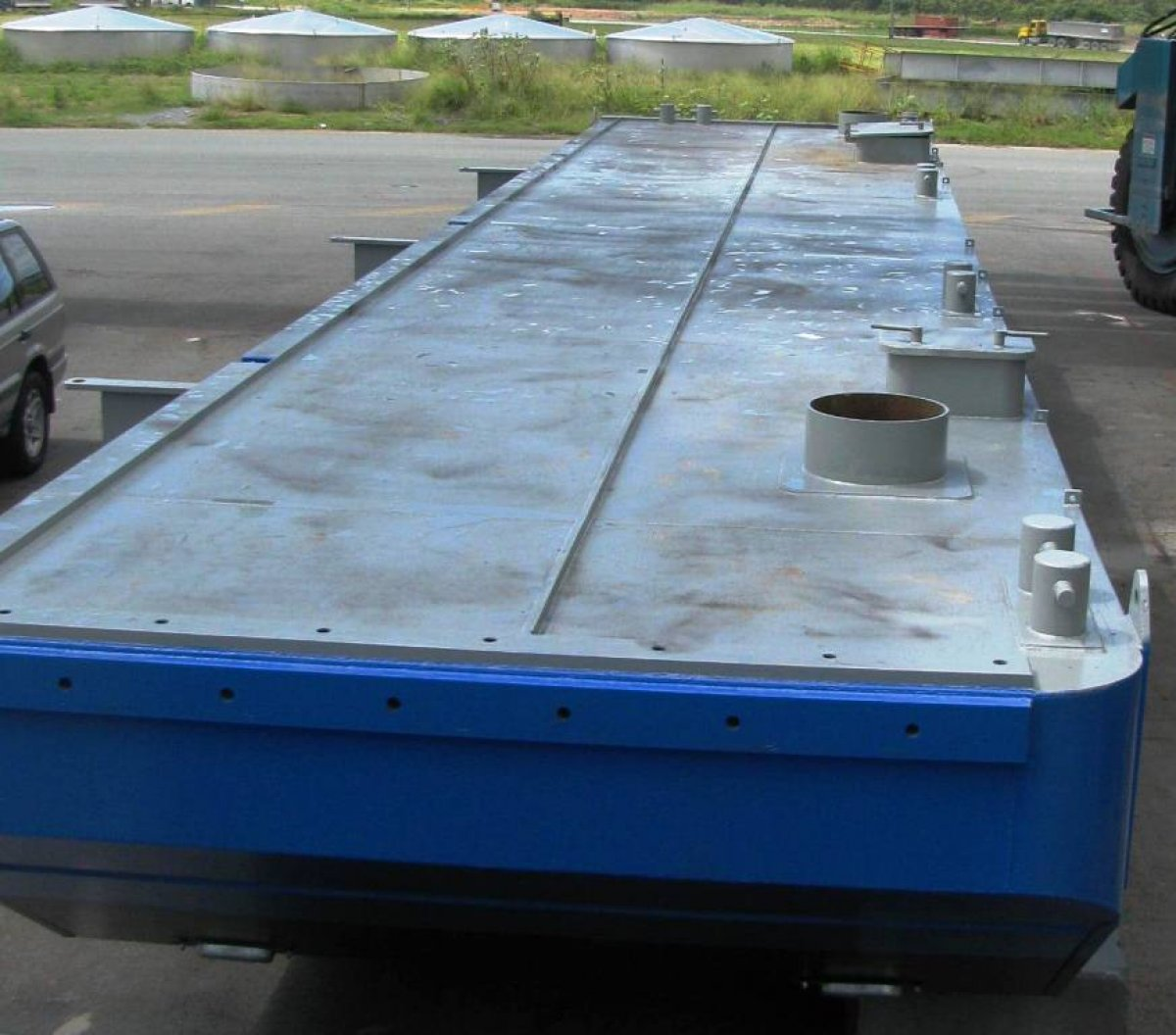 Harwood 16m Truckable Barge