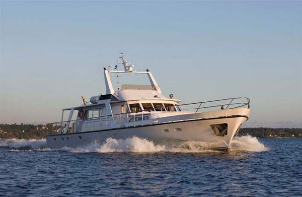 25m Motor Yacht with Royal Connections