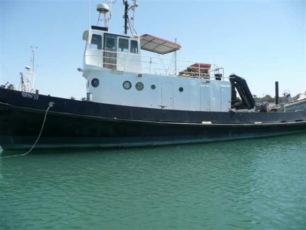18.31M Steel Tugboat - work boat