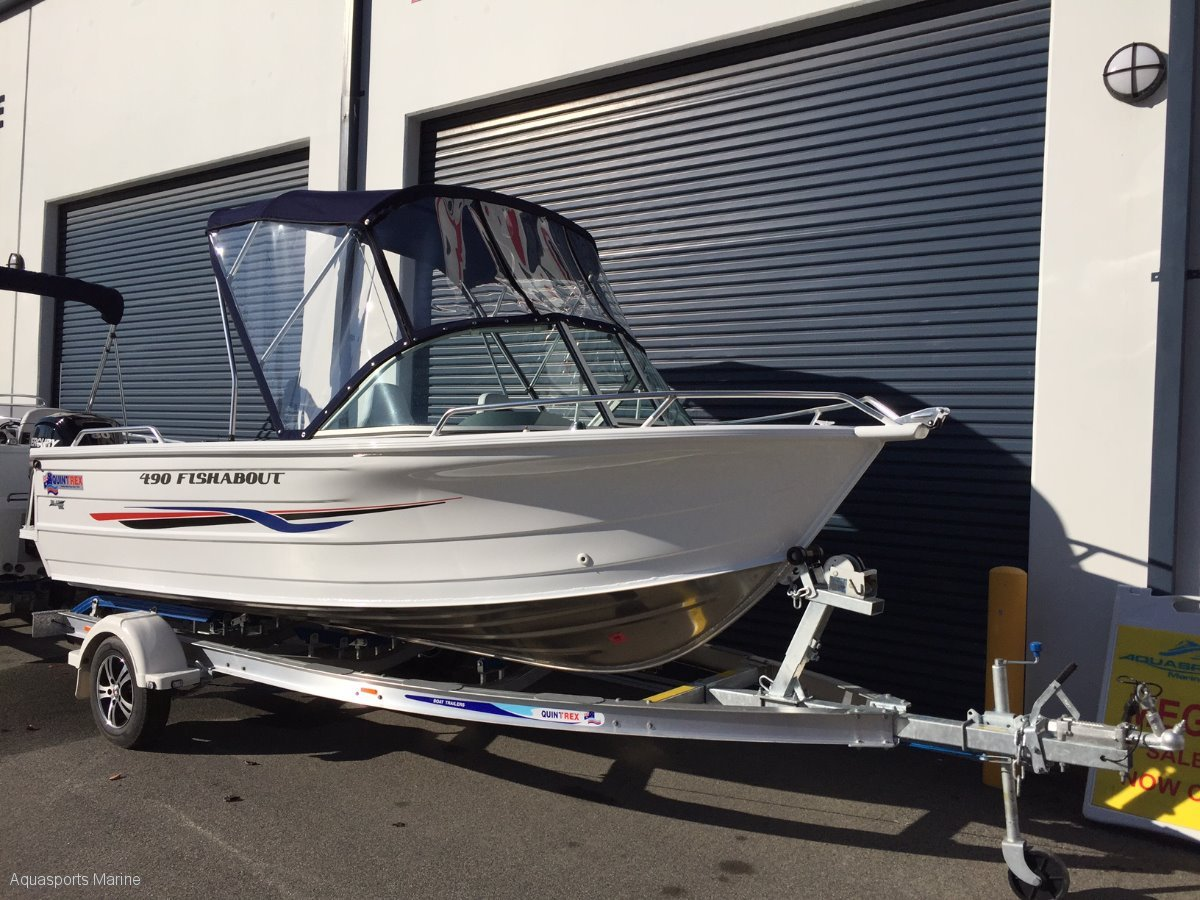 New Quintrex 490 Fishabout