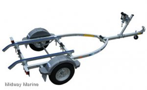 DUNBIER NIPPER SERIES BOAT TRAILER