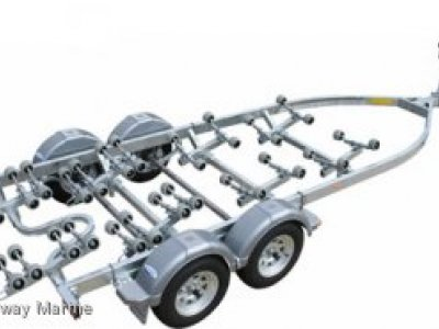 DUNBIER SUPER ROLLER SERIES BOAT TRAILER