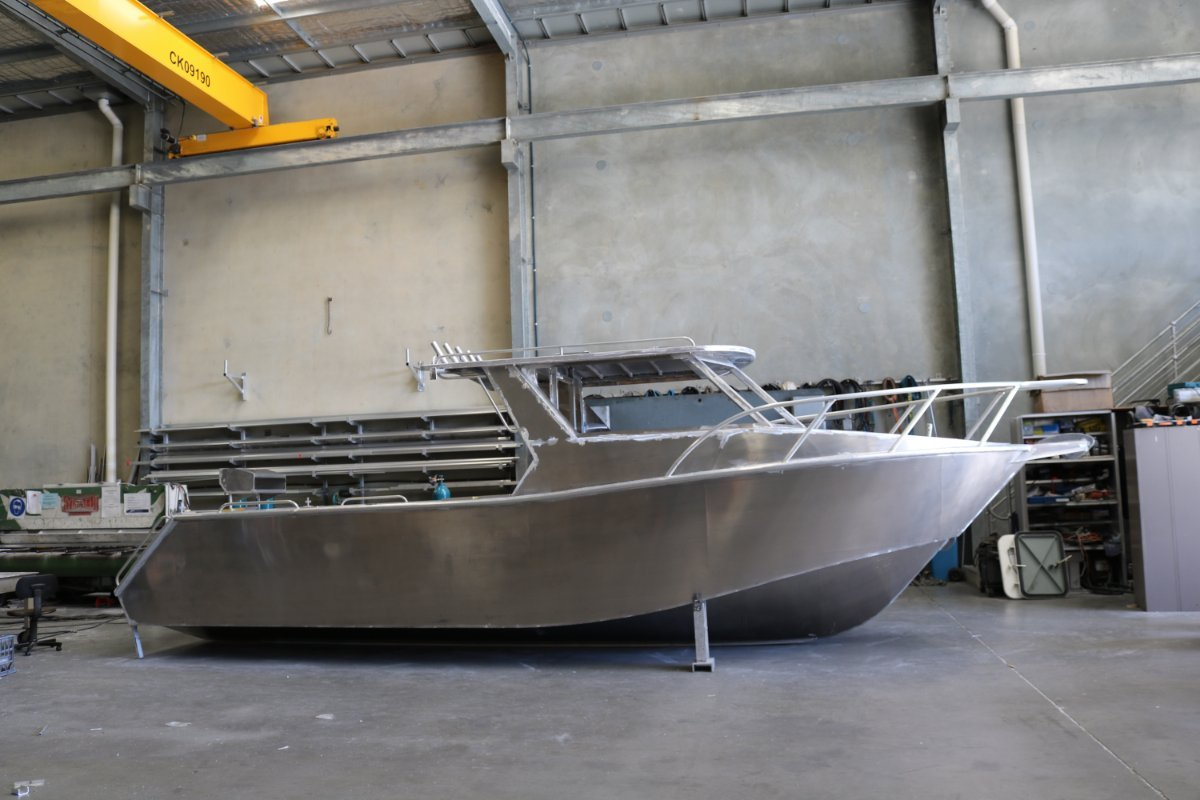 New Oceanic Fabrication 8.0 Enclosed Cabin: Power Boats | Boats Online for Sale | Aluminium ...