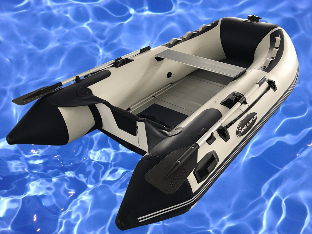 Searano LD270 2.7m inflatable V keel boat with aluminium deck