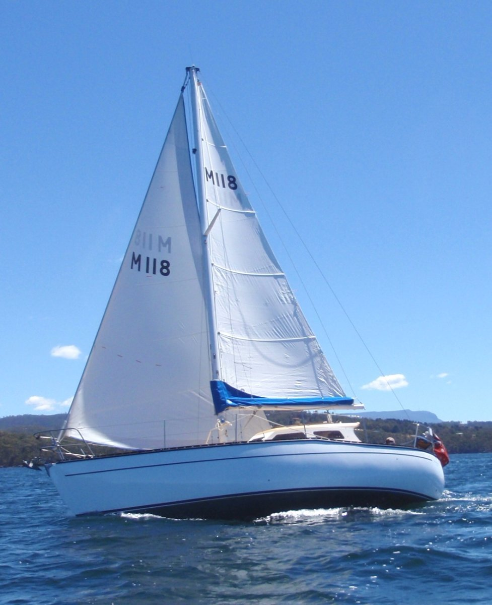 Swanson 28. Great example of these legendary yachts