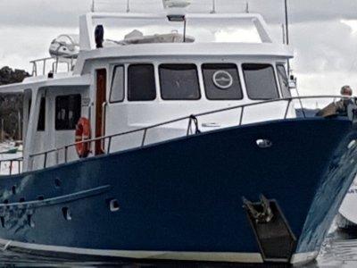 Chris Williams Design Pilothouse Displacement Cruiser Gardner powered,
