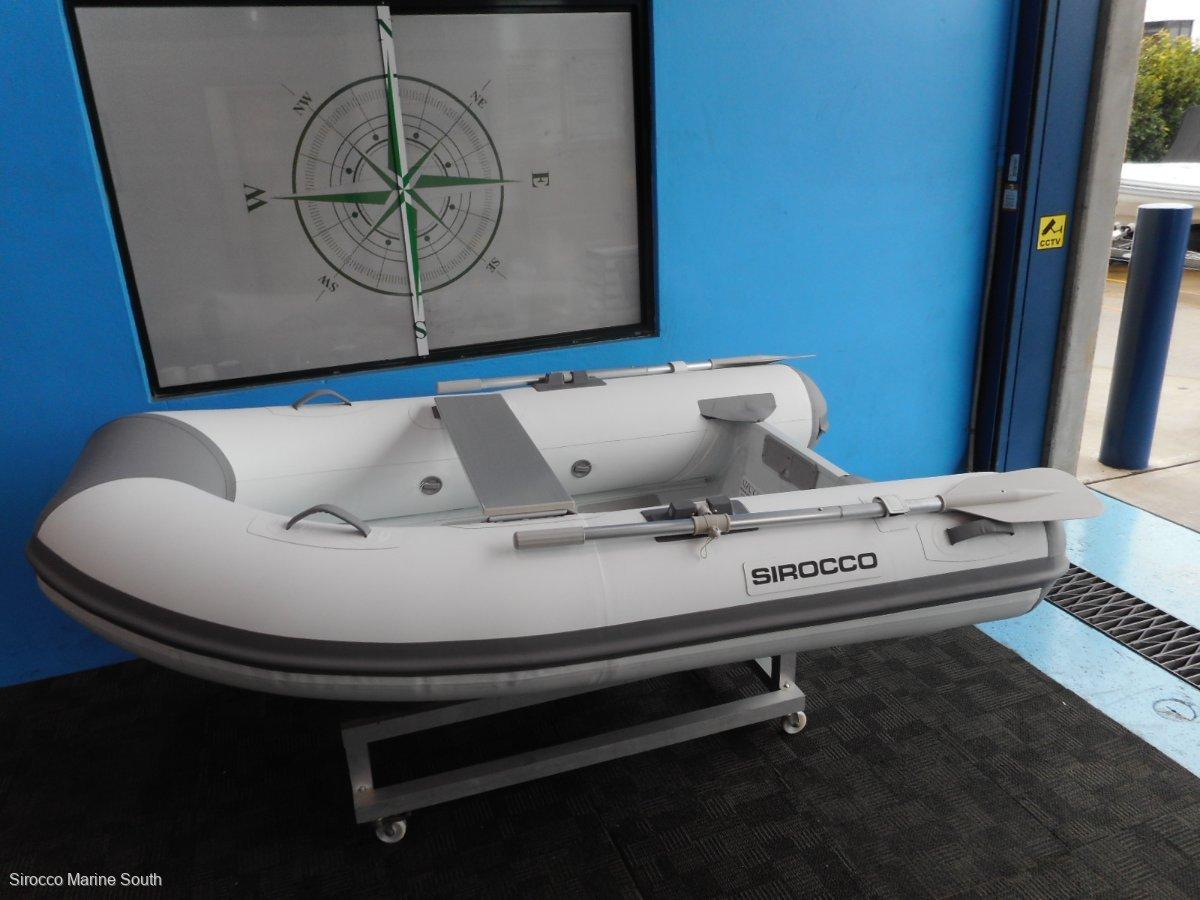Sirocco Rib-Alloy 240 Hypalon tubes