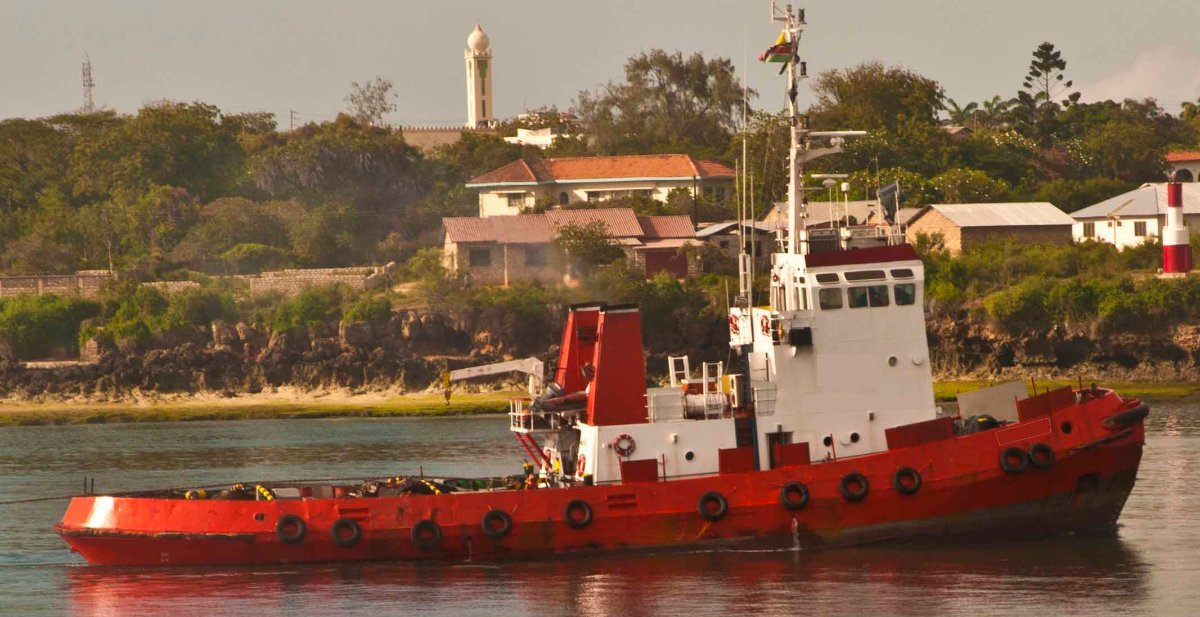 40T BP Ocean Going Tug Boat