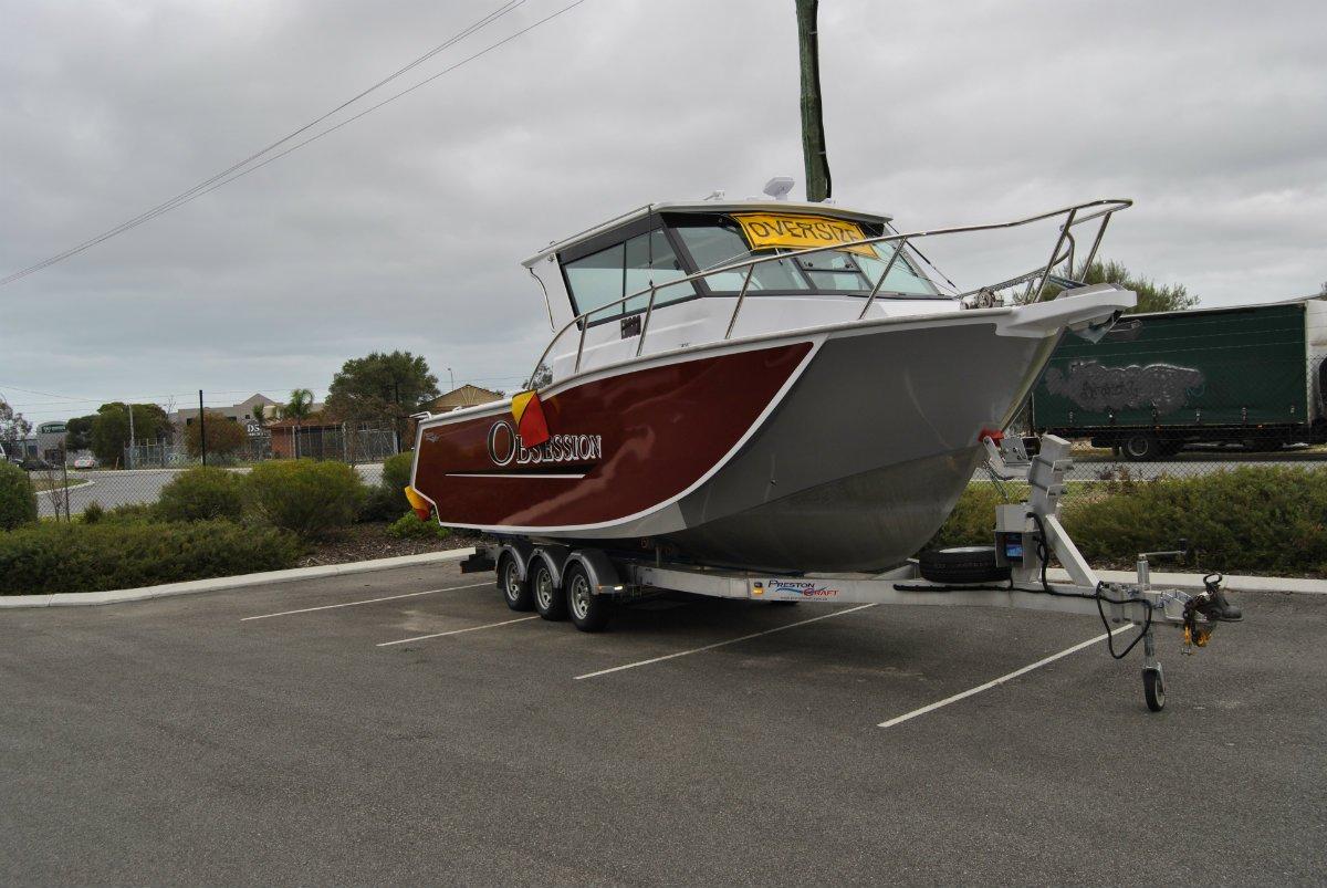 Preston Craft 800 Mirage Tri Hull