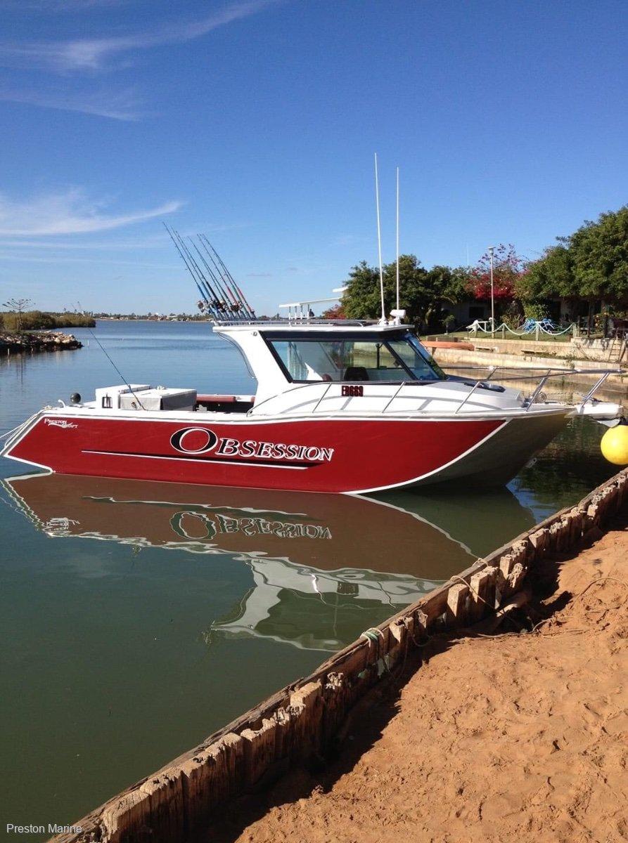 New Preston Craft 940 Mirage Tri Hull