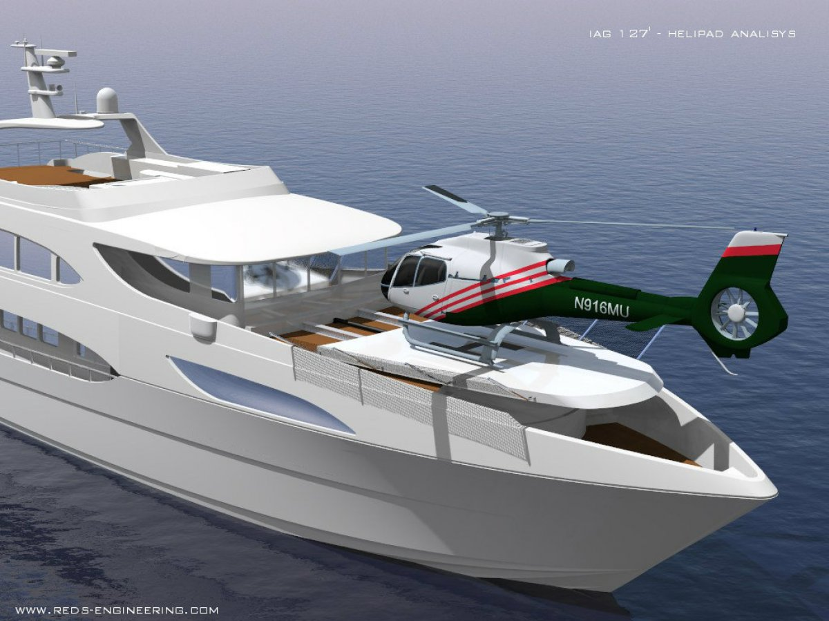 IAG Yachts 130 :Ensign Ship Brokers - IAG Yachts 130u2019