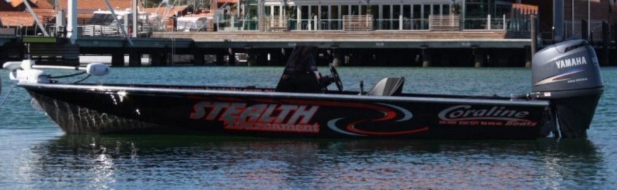 Coraline 550 Stealth Tournament 550 STEALTH TOURNAMENT Bream, Barra and Bass