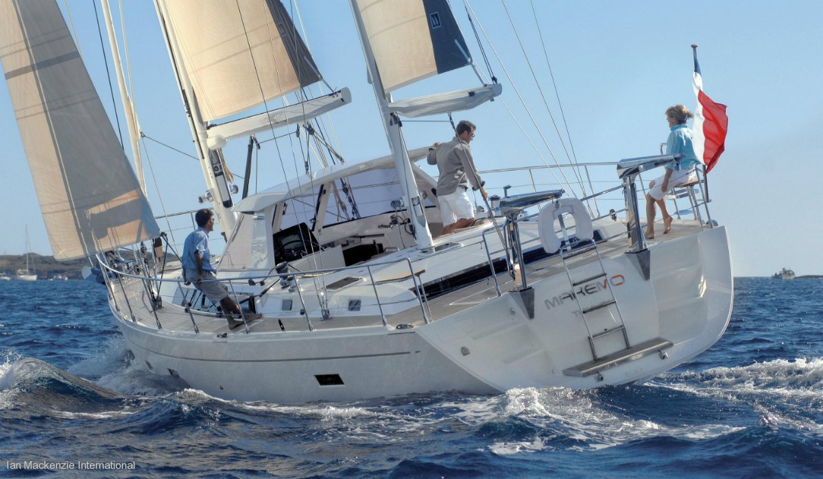 Amel 55 - Performance Sailing Yacht