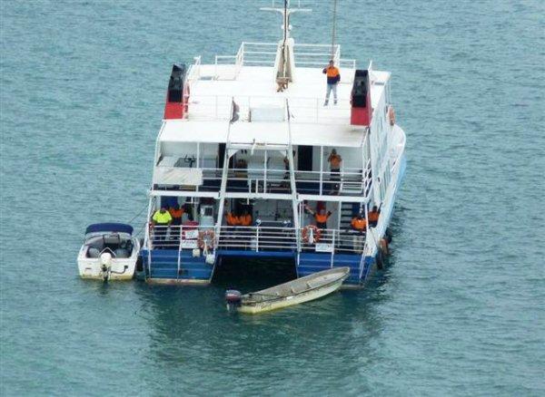 24 m Steel Catamaran