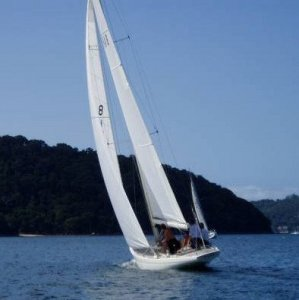 Lidgard classic 8 metre style yacht