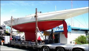 Lidgard classic 8 metre style yacht