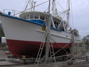 Timber Prawn Trawler with Licence