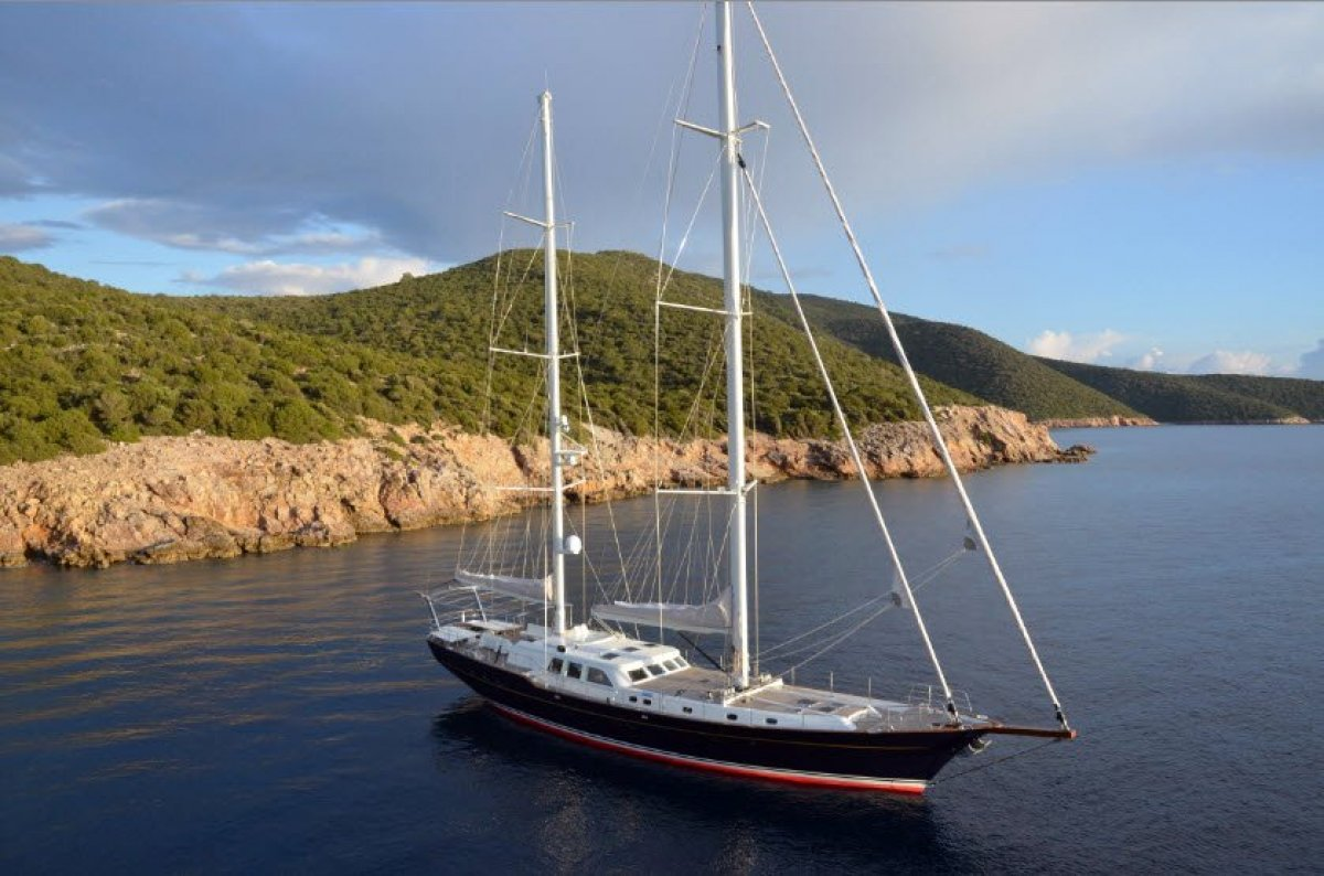 Ron Holland Design - 33m Large-Volume Ocean-Cruising Ketch