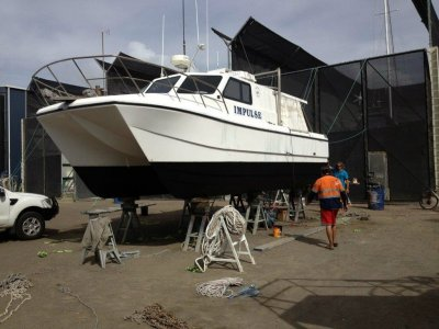 Nustar Comet 9.6 Comemrcial Fishing Catamaran- Click for more info...