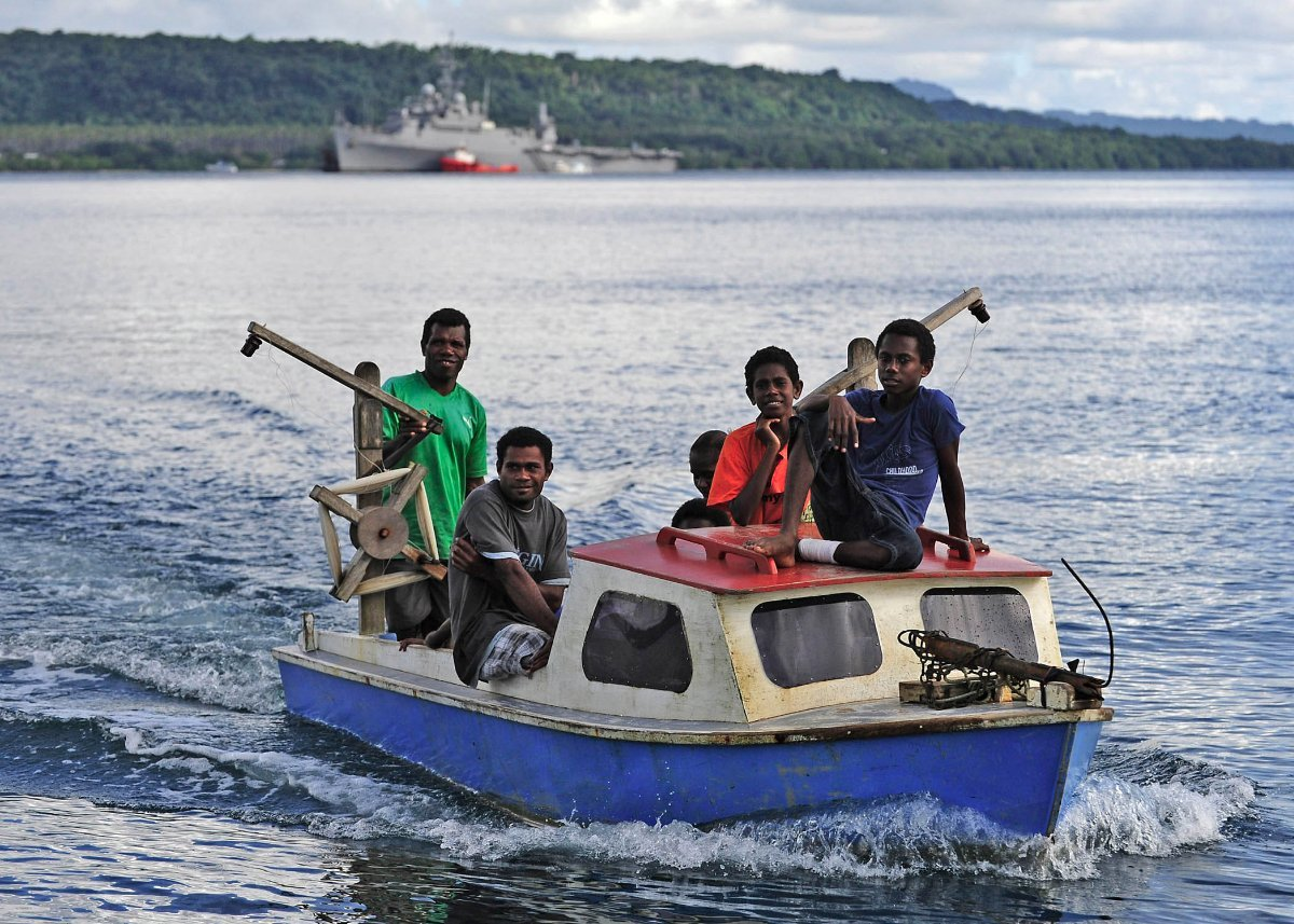 Caraid of Hobart -Charter business in Vanuatu