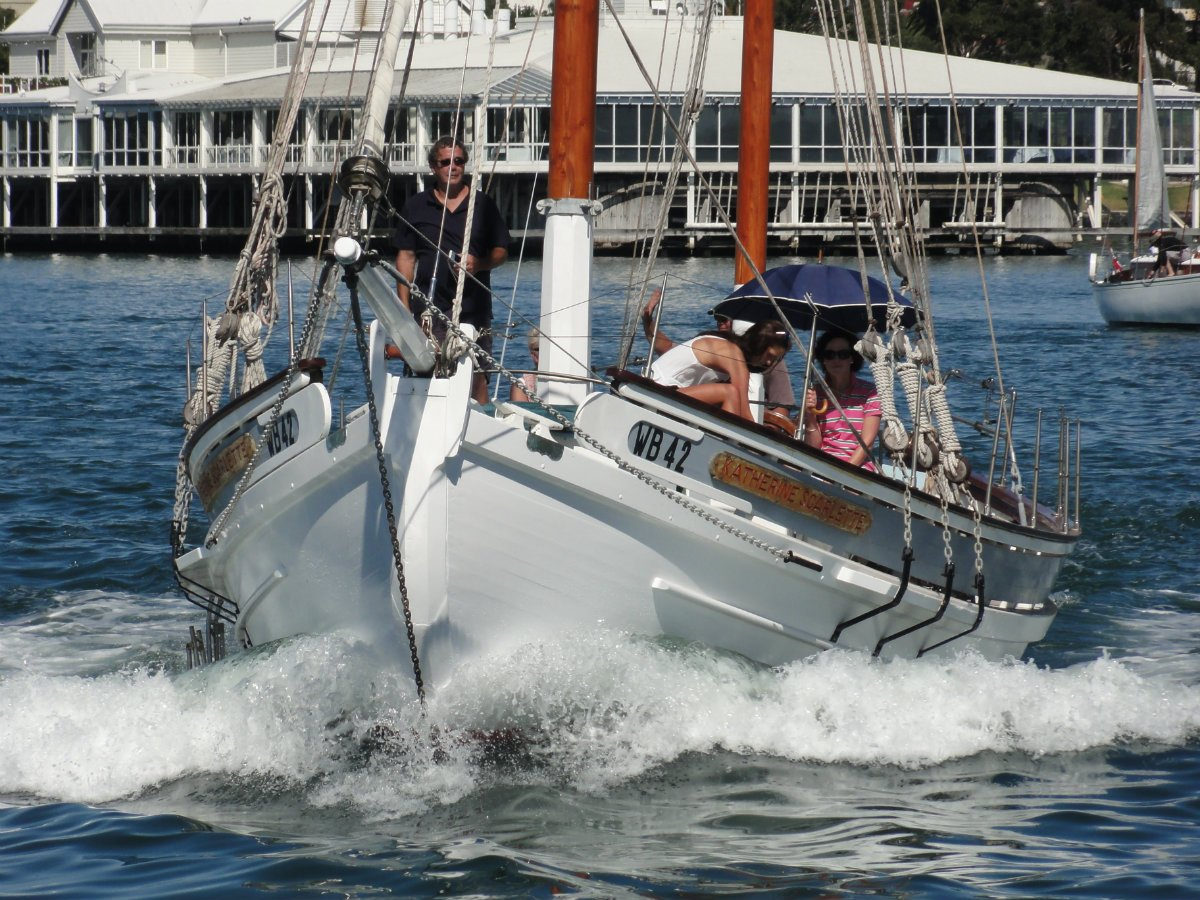 Buehler 46 Gaff Ketch George Buehler design Recent works now completed