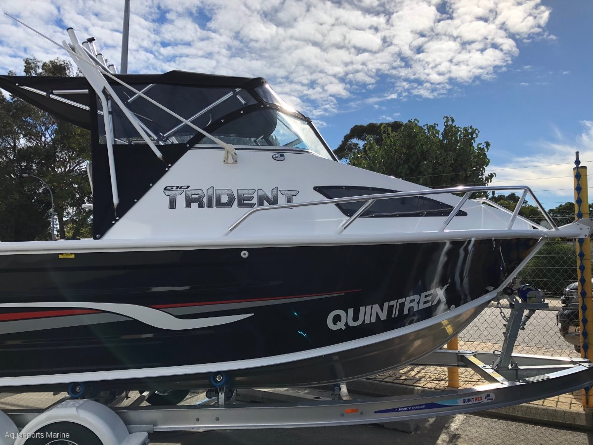 New Quintrex 610 Trident