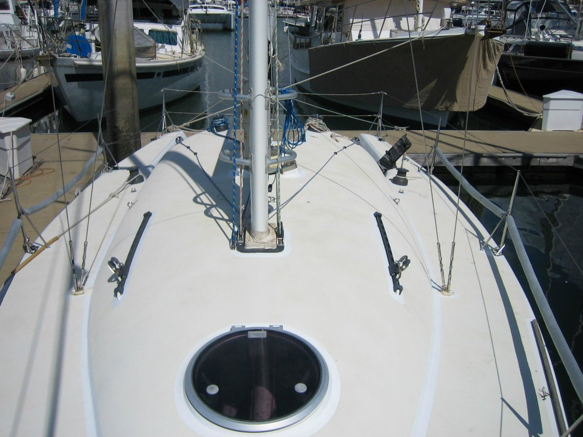 Costin canting keel club racing yacht