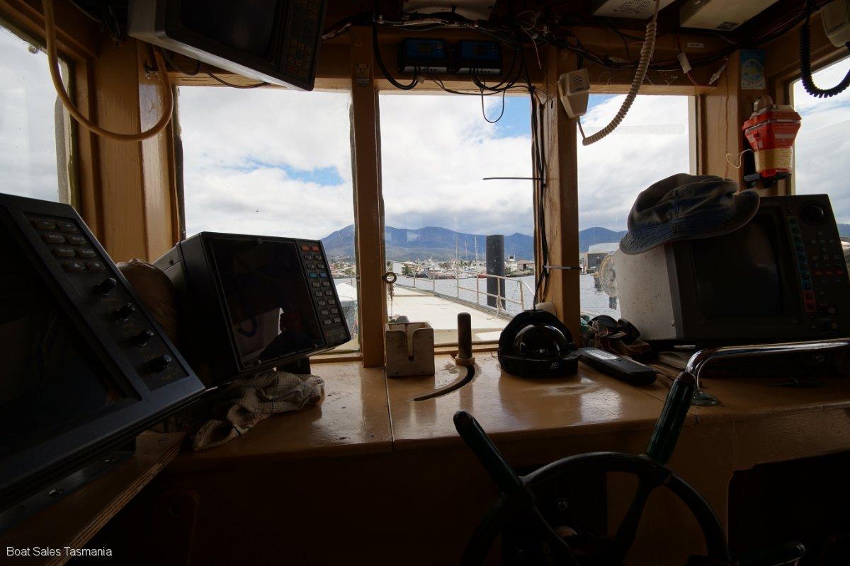 "48' Tasmanian Fishing Boat ""Mary Belle"""