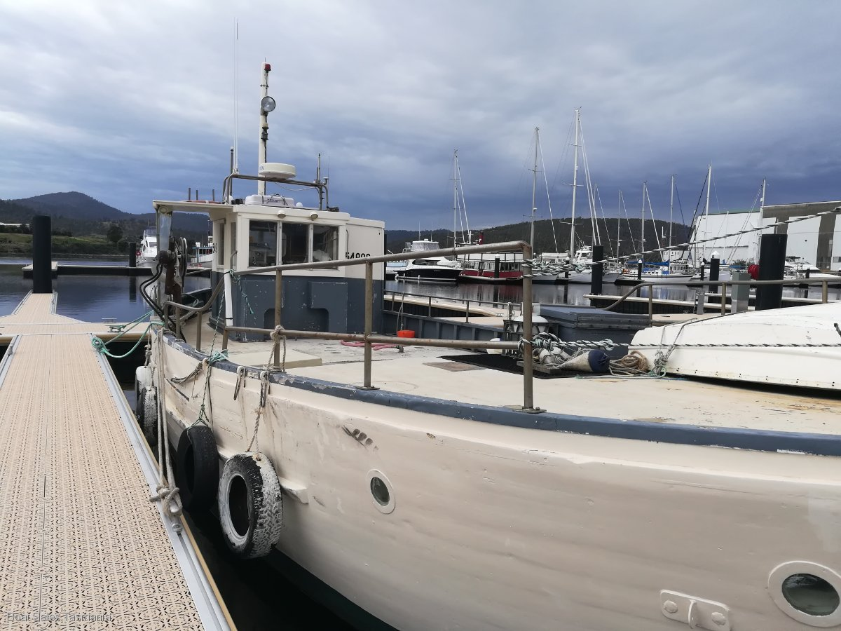 "48' Tasmanian Fishing Boat ""Mary Belle"""