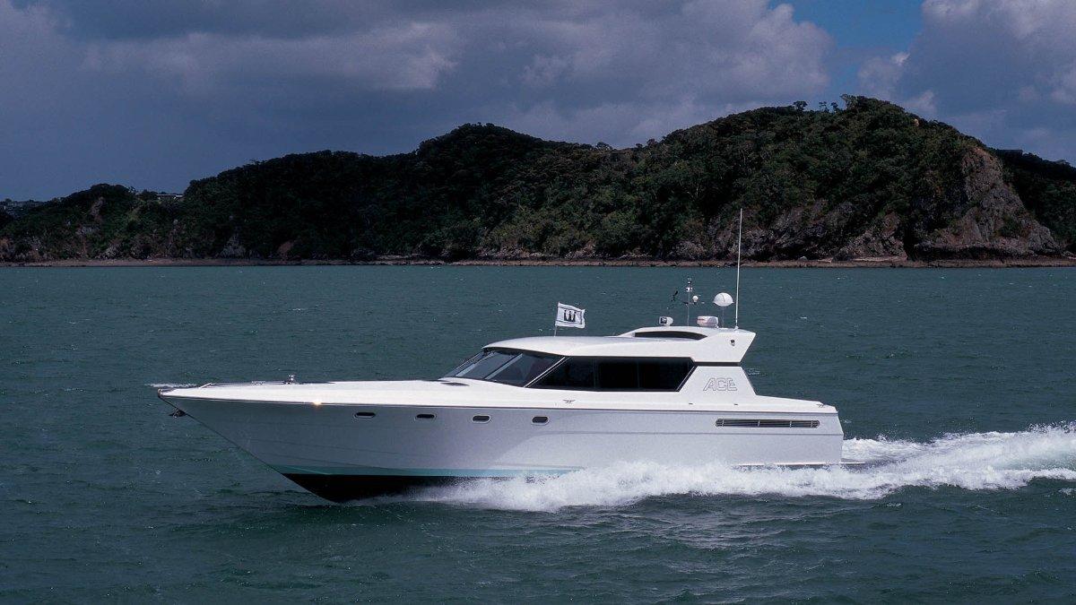 50' Warwick Sports Cruiser
