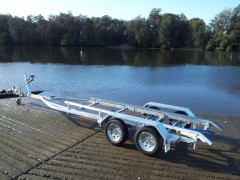 Tandem Boat trailer to suit Aluminium Boats up to 6.7m