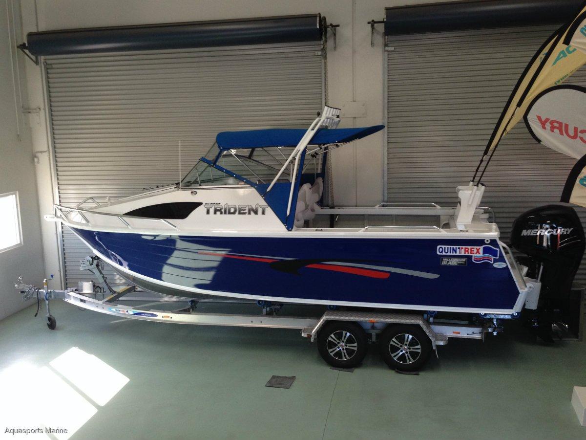New Quintrex 690 Trident