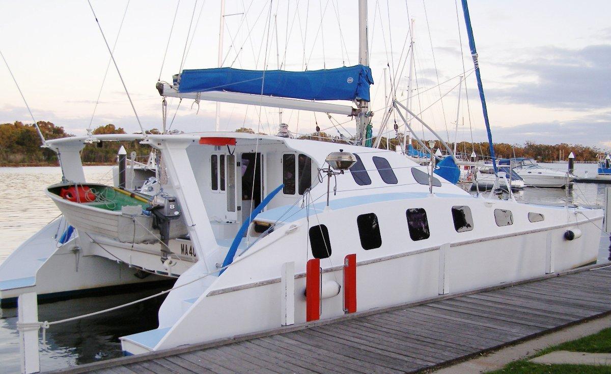 Peter Snell Easy 37:Easy 38 Cruising Catamaran