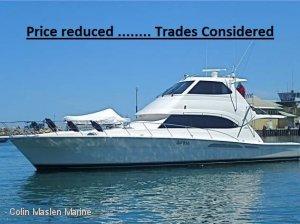 Riviera 58 Flybridge ....... Price Reduced........ Trades considered