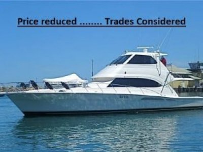Riviera 58 Flybridge ....... Price Reduced........ Trades considered