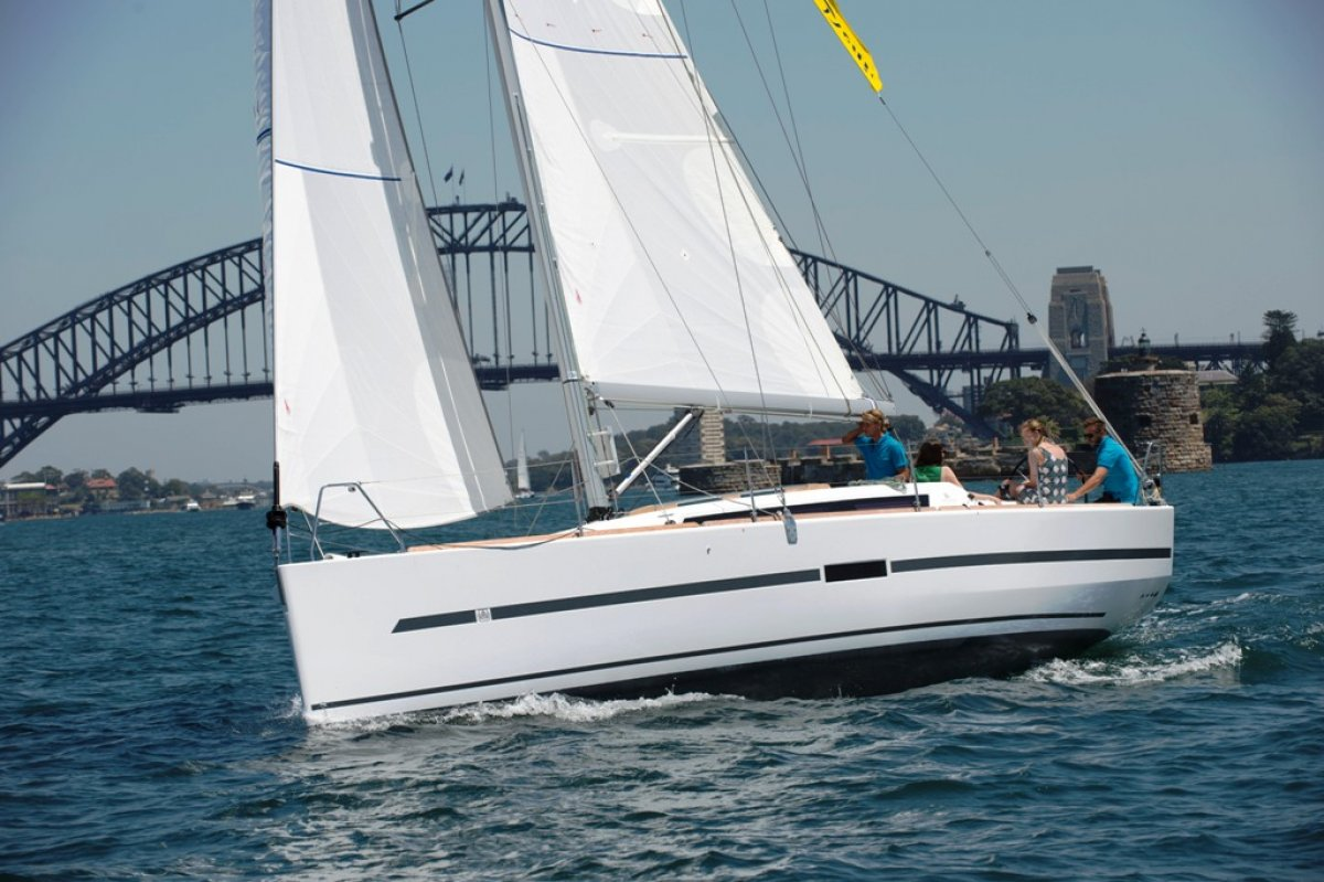 Dufour 36 Charter Yacht in Survey and managed