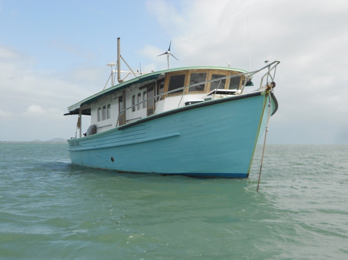 Sharpie Trawler Timber Cruiser
