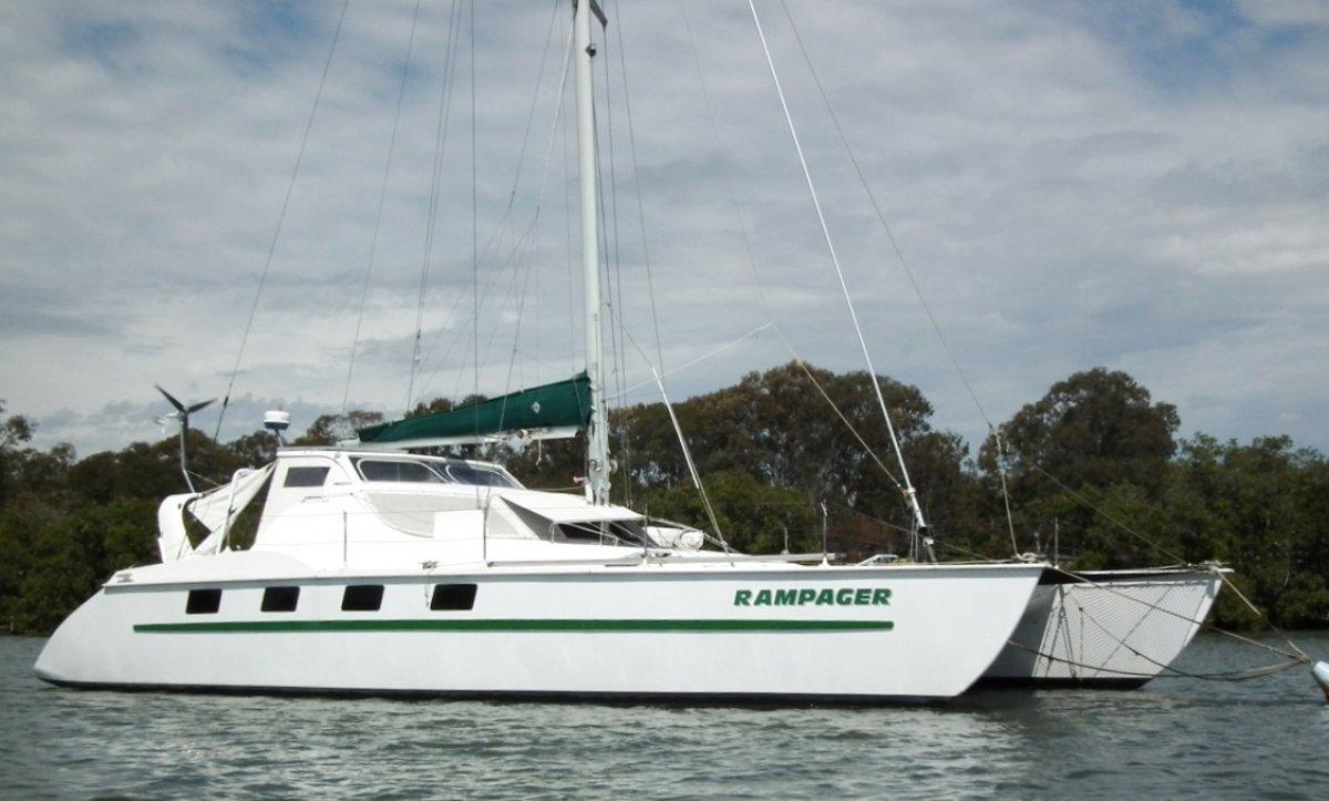 Gross Fastback 43 Catamaran:Gross Fastback 43 Cruising Catamaran