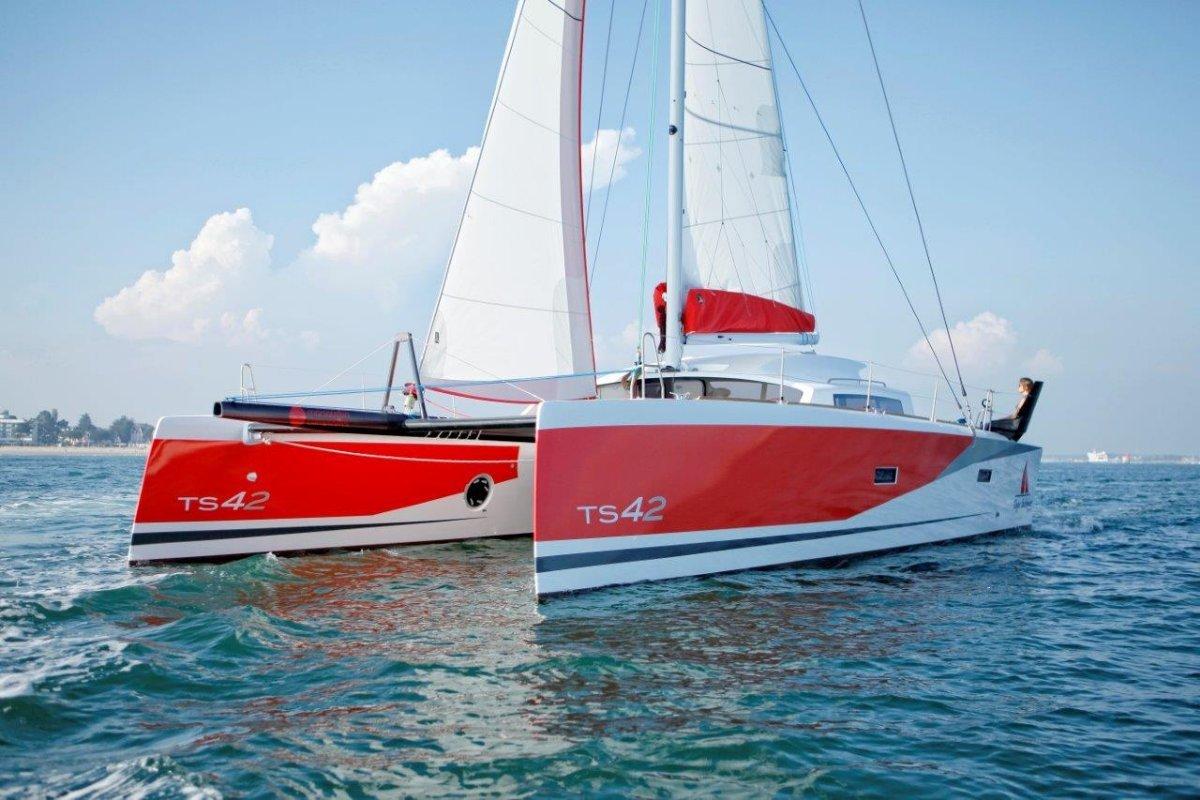 Amara TS 42 Barreau-Marsaudon Catamaran