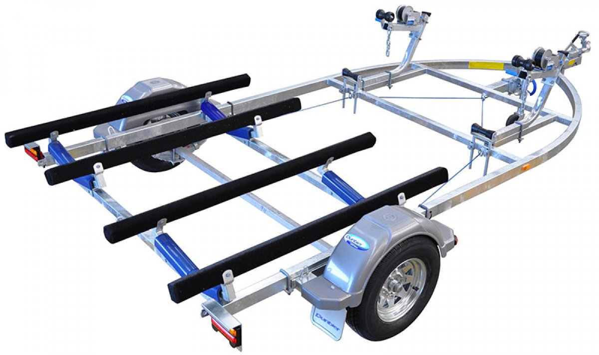DUNBIER SPORTS WATERTOY SERIES JET SKI TRAILER