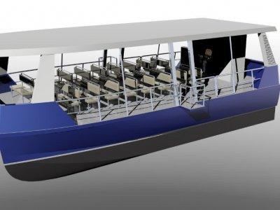 Ferry 12m 50 Pax